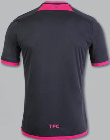 Toulouse 2017 dos maillot exterieur TFC 2016 2017