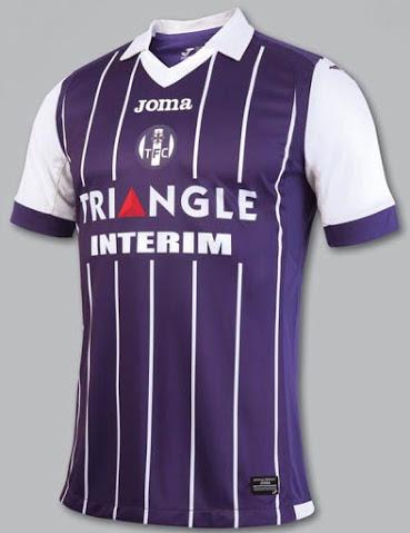 Toulouse 2017 maillot de foot domicile TFC