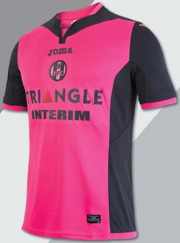 Toulouse 2017 maillot foot exterieur TFC 2016 2017