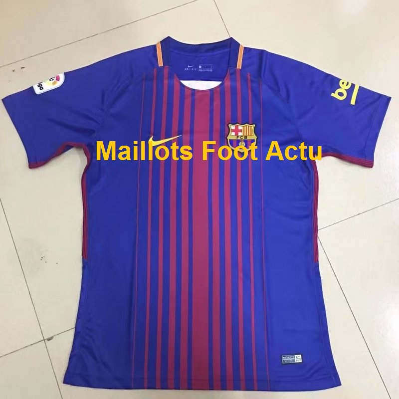 Barcelone 2018 maillot de foot domicile 17 18