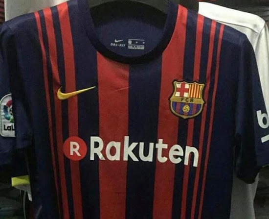 Barcelone 2018 maillot domicile 2017 2018 Nike