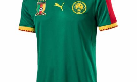 Cameroun 2017 nouveaux maillots de foot CAN 2017