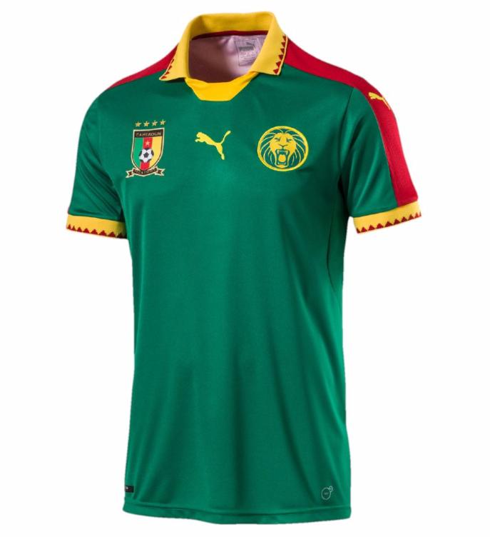 Cameroun 2017 maillot CAN 2017