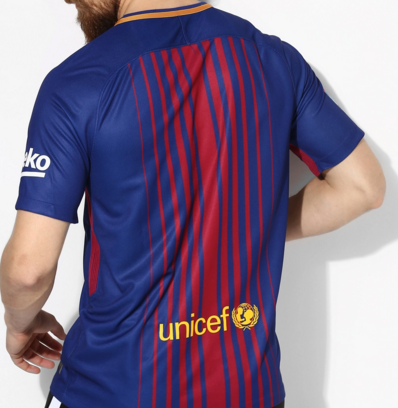 FC Barcelone 2017 2018 maillot Nike