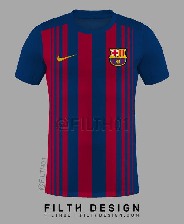 FC barcelone 2018 maillot de foot dessin