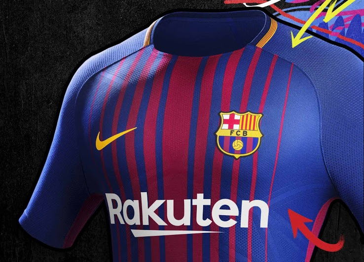 ensemble de foot FC Barcelona 2018