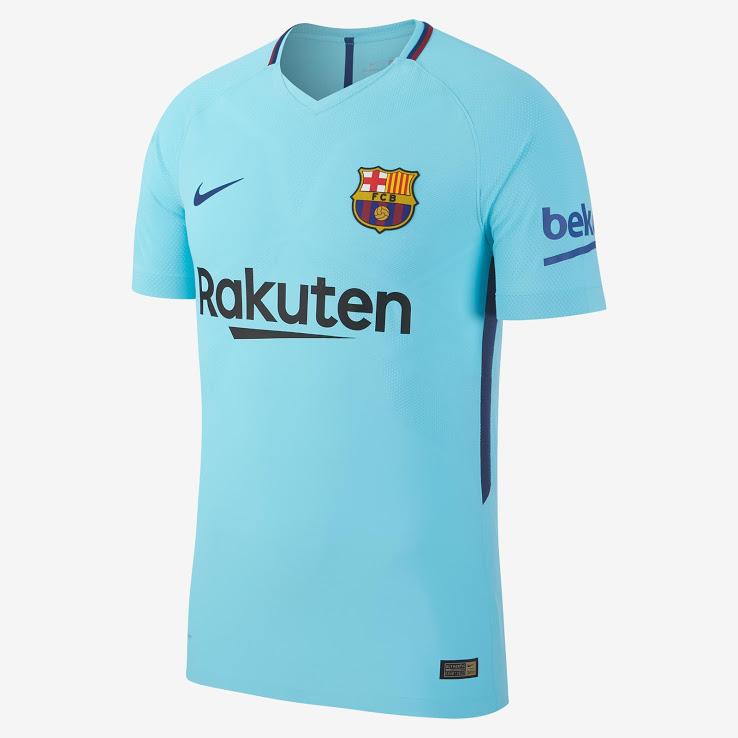 FC Barcelone 2018 maillot exterieur Nike officiel