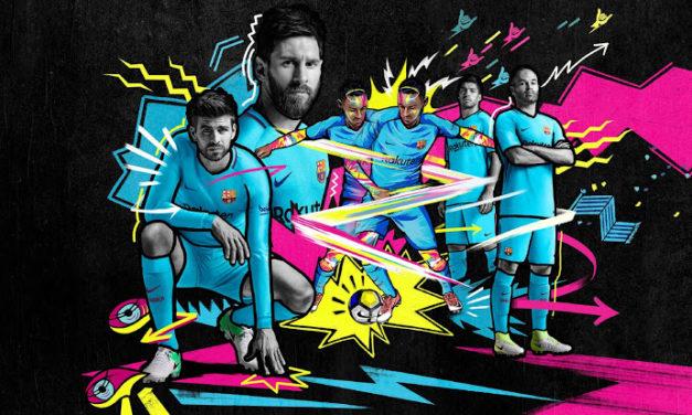 FC Barcelone 2018 les nouveaux maillots 17-18
