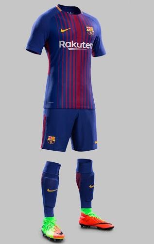 FC Barcelone 2018 maillot football domicile