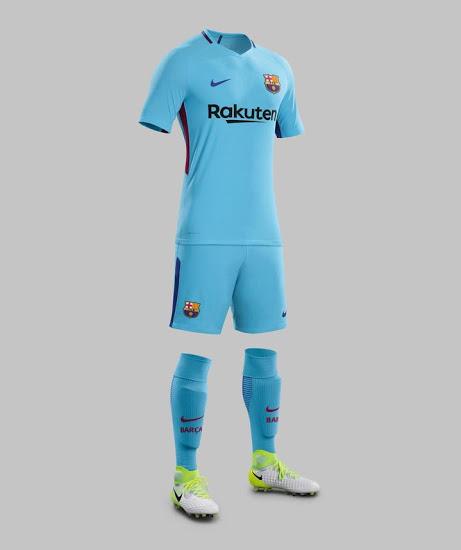 FC Barcelone 2018 maillot football exterieur 2017 2018