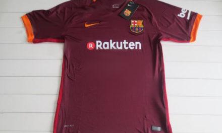 FC Barcelone 2018 fuite des nouveaux maillots 17-18