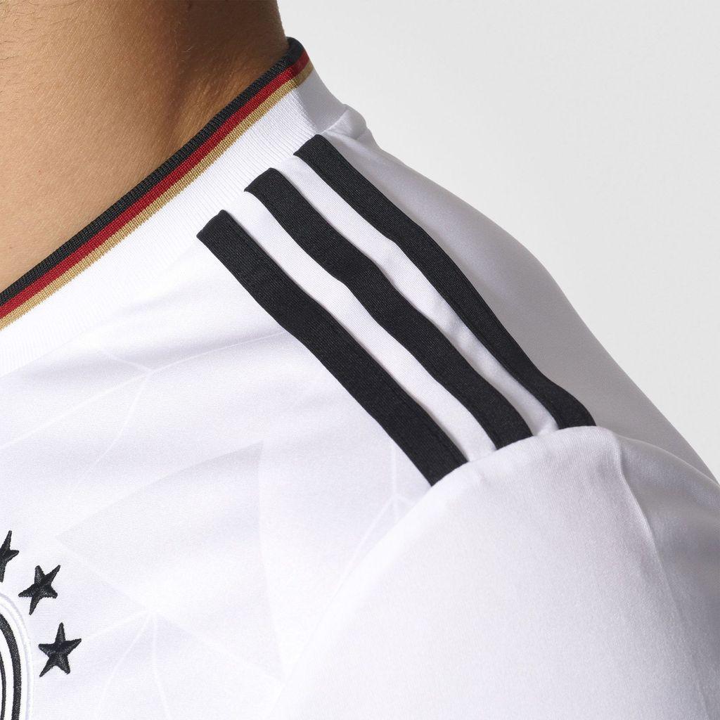 Allemagne 2017 maillot football détail épaule Adidas