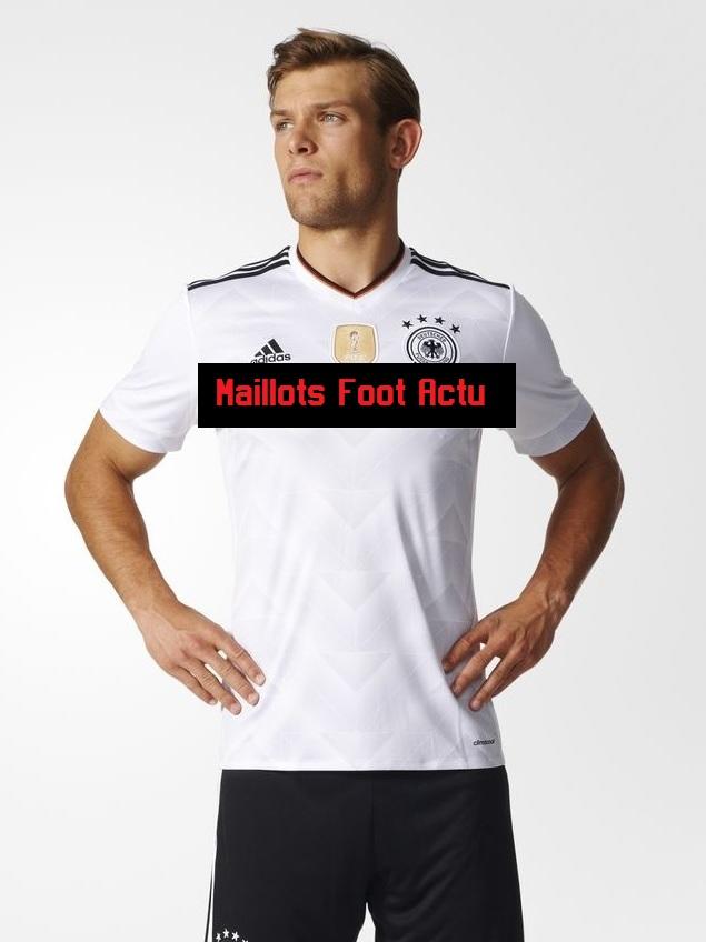 Nouveau maillot Allemagne 2017 domicile coupe confédérations