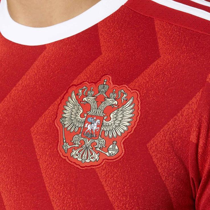 Russie 2017 blason maillot foot coupe des confédérations