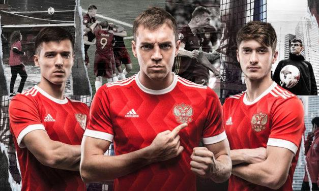 Russie 2017 maillots coupe des confédérations