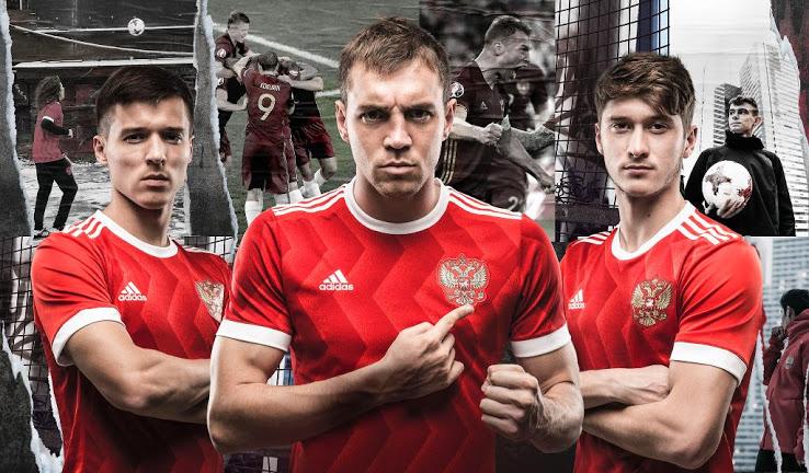 Russie 2017 maillot coupe des confédérations