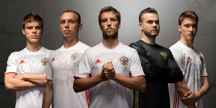 Russie 2017 maillot exterieur coupe des confédérations