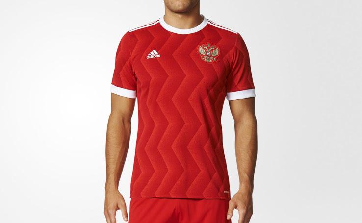 Russie 2017 maillot foot domicile coupe des confédérations Adidas