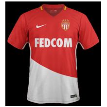 AS Monaco 2017 2018 maillot domicile football