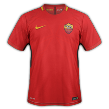 AS Roma 2018 maillot foot domicile Rom 2017 2018