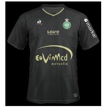 AS Saint Etienne 2018 maillot noir exterieur ASSE