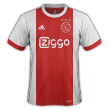 Ajax 2018 maillot domicile football 17 18