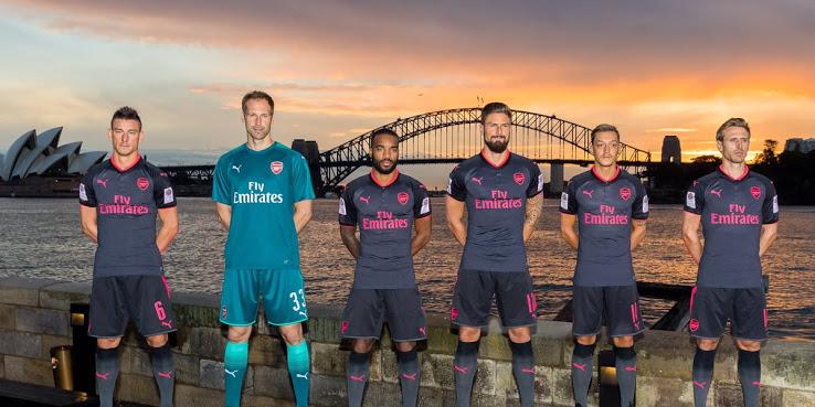 Arsenal 2018 maillot de foot third officiel Puma