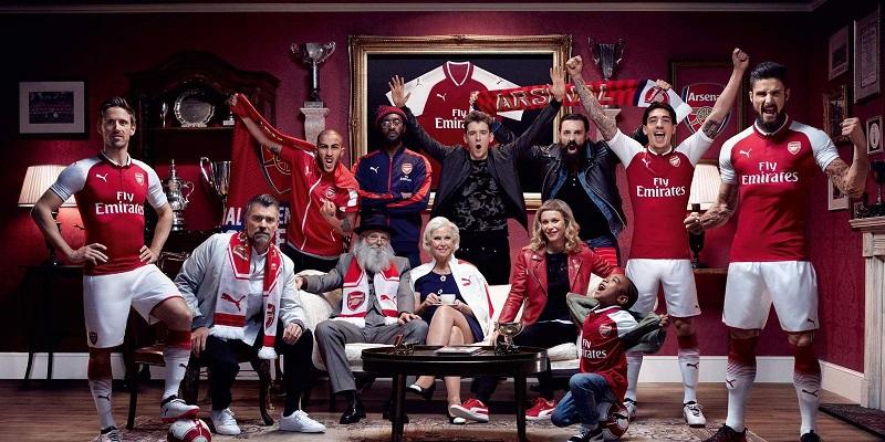 Arsenal 2018 maillot foot domicile officiel
