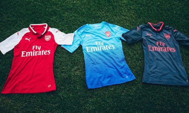 Arsenal 2018 les premières photos sur les maillots 17-18