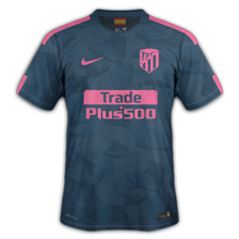 Atletico Madrid 2018 troisieme maillot third foot 17 18