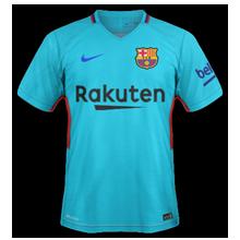 Barcelone 2018 maillot de foot exterieur 17 18