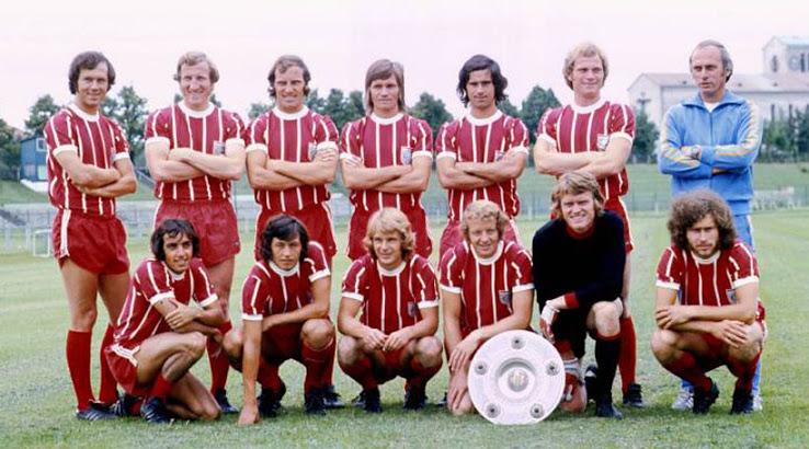 Bayen Munich maillot 1973 1974