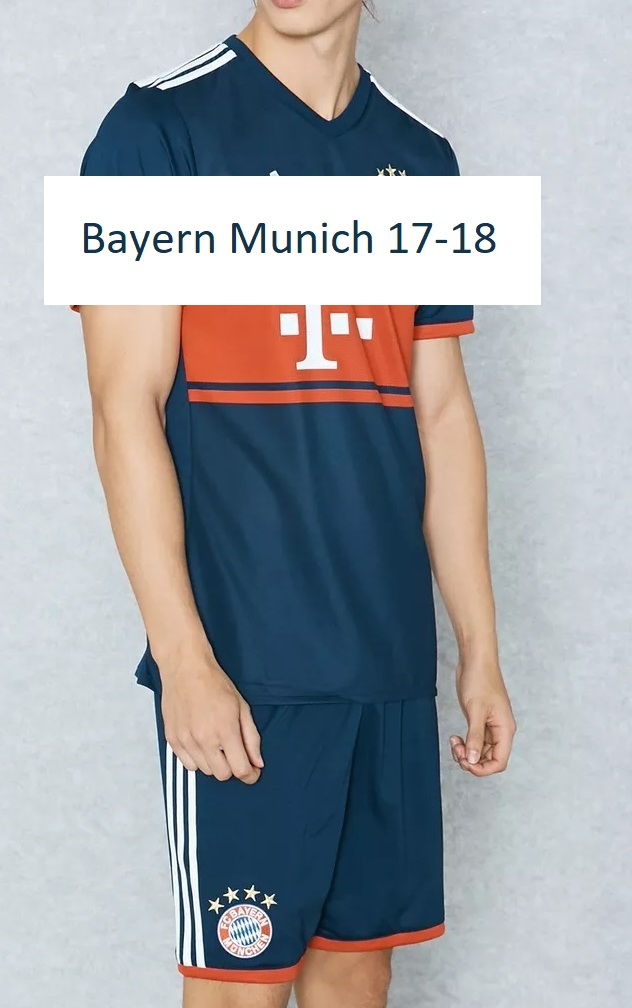 Bayern 2018 maillot ede foot exterieur Munich