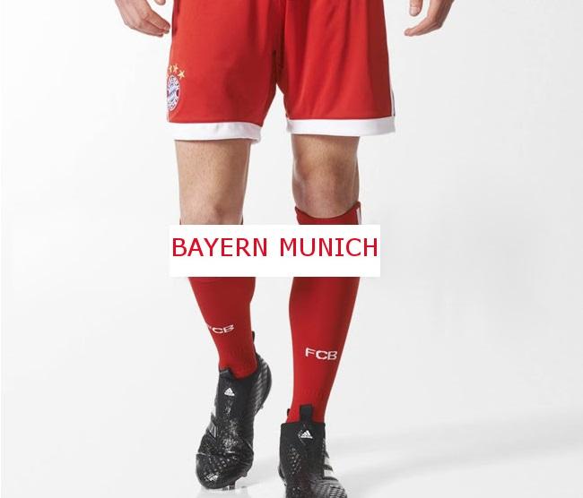 Bayern Munich 2018 domicile short et chaussettes