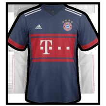 Bayern Munich 2018 maillot exterieur 17-18
