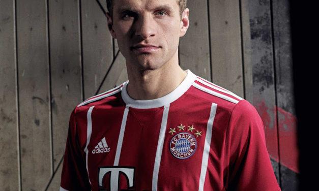 Découvrez les maillots de foot Bayern Munich 2018