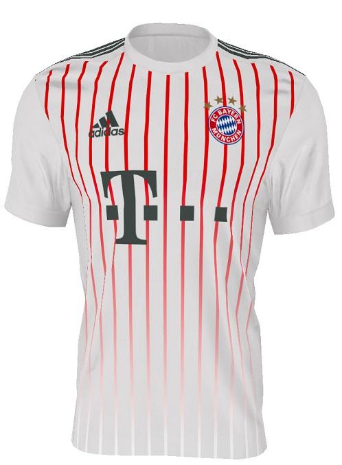 Bayern Munich 2018 maillot third 2017 2018 Adidas