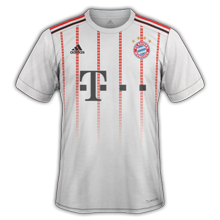 Bayern Munich 2018 troisieme maillot third 17 18