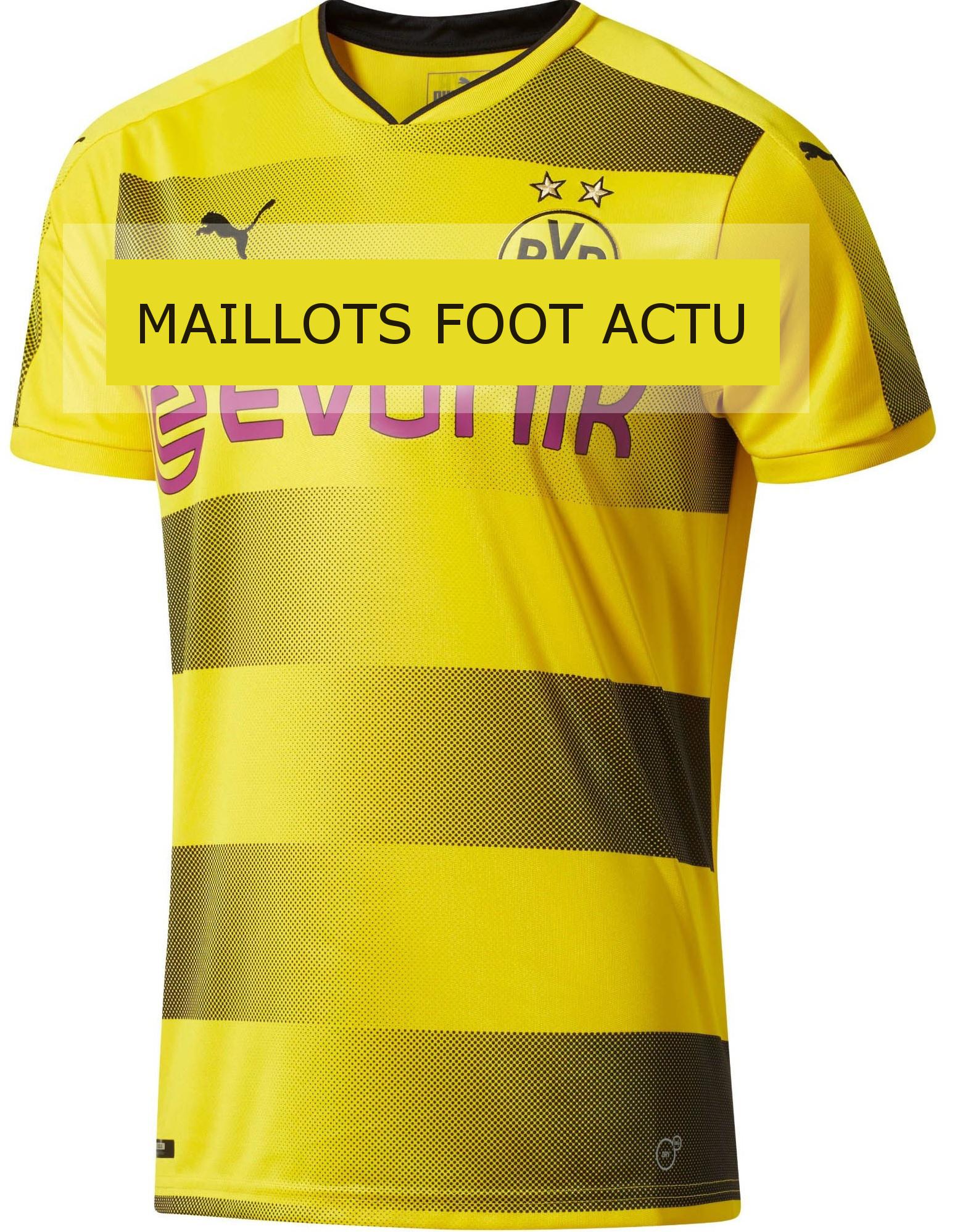 Borussia Dortmund 2018 maillot de football domicile 17 18