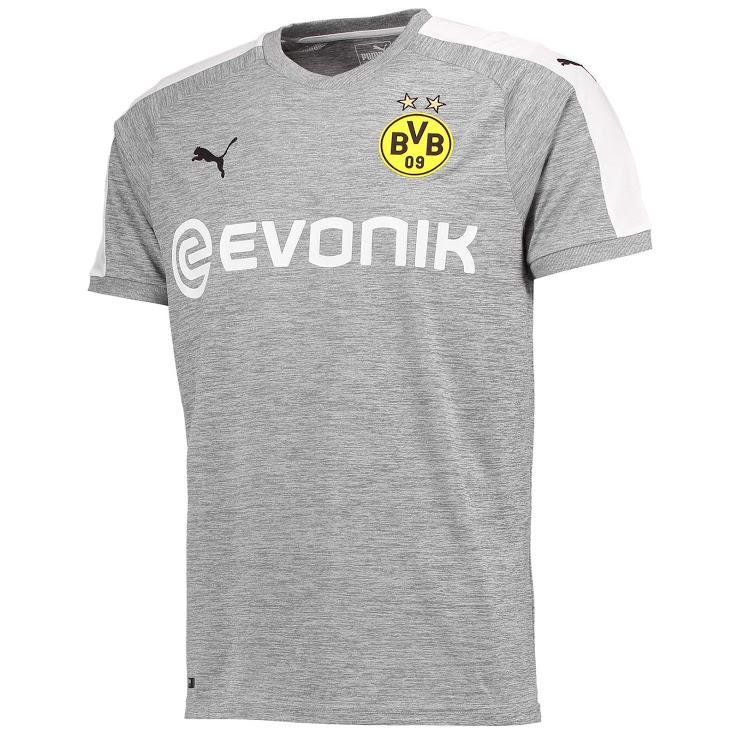 Borussia Dortmund 2018 maillot de football third gris Puma
