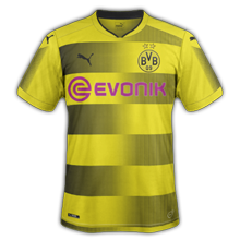 Dortmund 2018 maillot domicile football 17-18