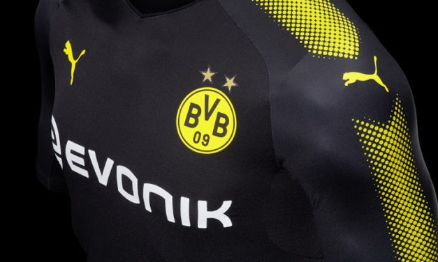 Sponsors foot maillot football maillots foot actu for Maillot borussia dortmund exterieur