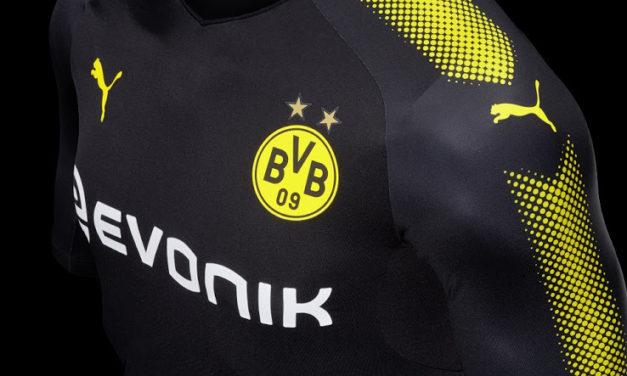 Nouveaux maillots de foot Borussia Dortmund 2018