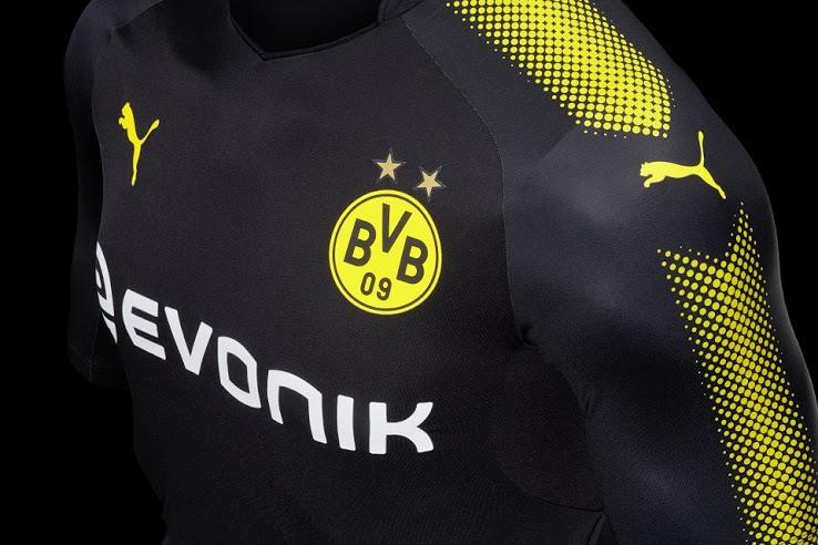 Dortmund 20118 maillot de foot exterieur