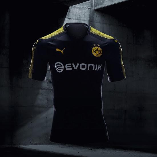 Dortmund 20118 maillot exterieur 2017 2018