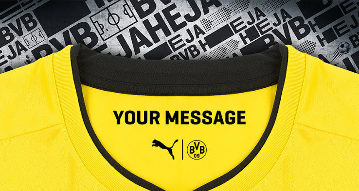 Dortmund 2018 col du maillot 17 18