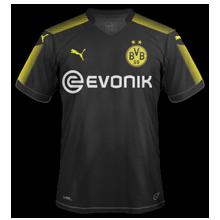 Dortmund 2018 maillot exterieur foot noir