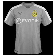 Borussia Dortmund 2018 maillot third gris