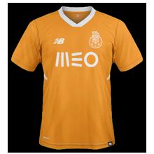 FC Porto 2018 maillot de football extérieur orange
