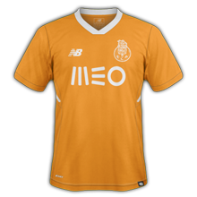 FC Porto 2018 maillot de football extérieur orange